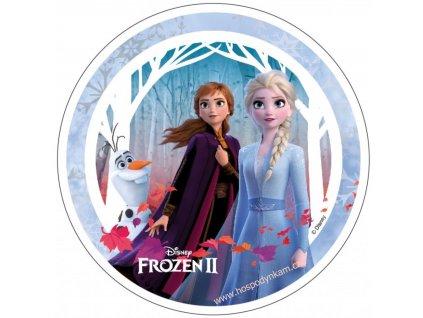 Jedlý papír Frozen II, motiv 4