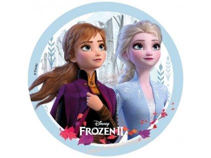 Jedlý papír Frozen II (bezlepkový)