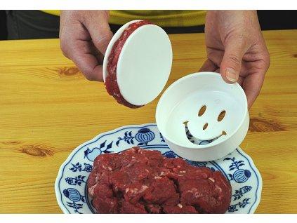 Formička na hamburgery, vepřenky a karbanátky
