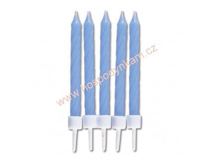 Dortové svíčky modré