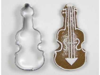Nerezové vykrajovátko housle