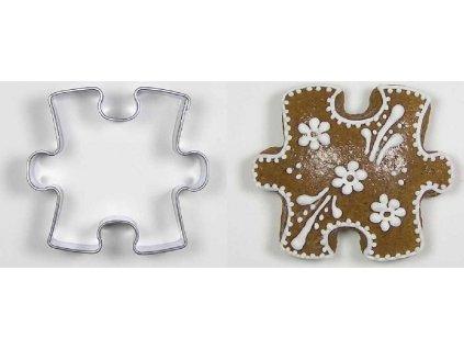 Nerezové vykrajovátko puzzle