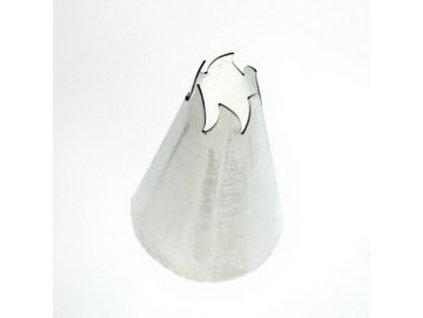 Zdobící špička točená, průměr 8mm-6 zubů