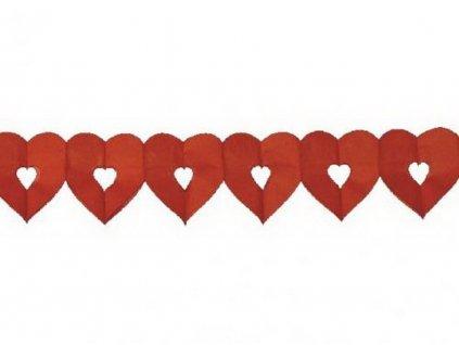 Girlanda srdce