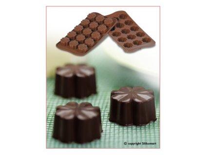Silikonová forma na čokoládu Fleury
