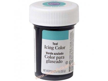 Gelová barva Wilton - tyrkysová