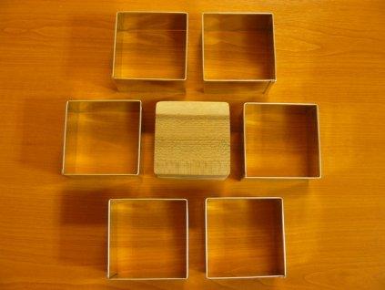 Formy na semifreda - čtverec