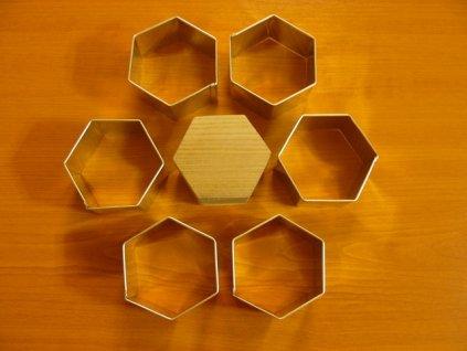 Formy na semifreda - šestihran