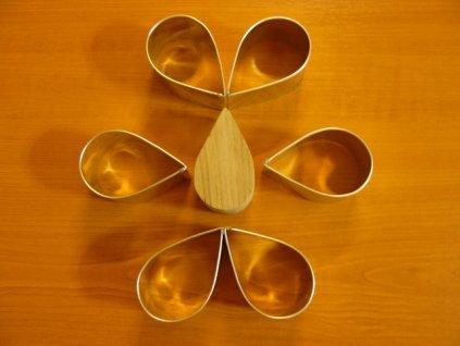 Formy na semifreda - kapka