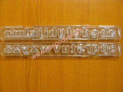 Vypichovač abeceda malá písmena rovná