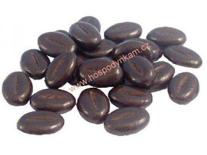 Čokoládová dekorace - kávová zrna 60g