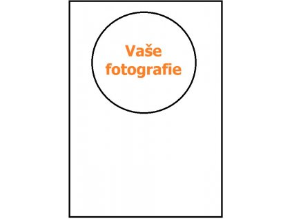Tisk na jedlý papír - kruh 14cm