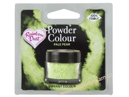 Prachová barva Pale Pear