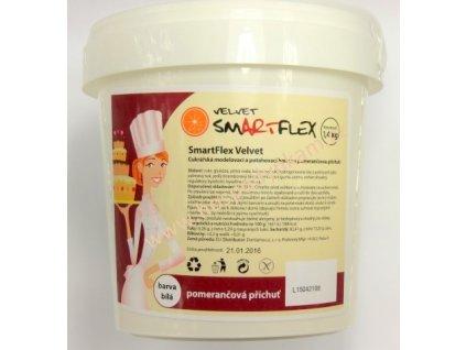 Smartflex Velvet 1,4kg - pomerančový