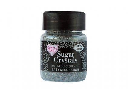 Cukrové krystaly Stříbrné 50g