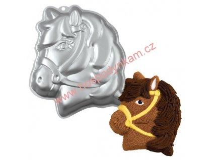 Dortová forma Wilton - hlava poníka