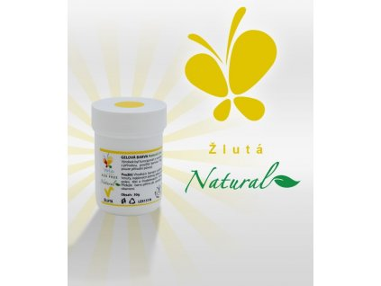 Gelová barva žlutá (azofree)