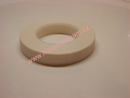 Floristická páska bílá