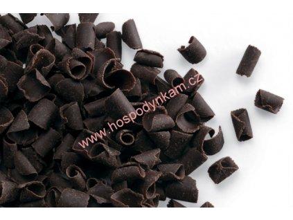 Čokoládové kudrny tmavé 50g