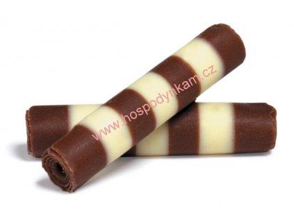 Čokoládové trubičky twister 40g