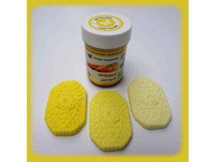 Gelová barva Food Colours, Light Yellow
