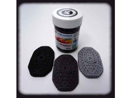 Gelová barva Food Colours, Black