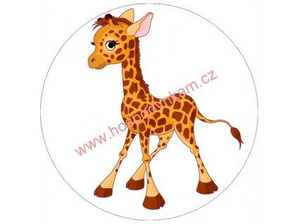 Jedlý papír žirafa