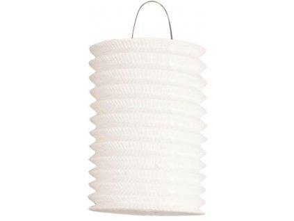 Lampion bílý