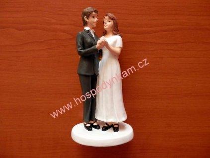 Figurka na dort - registrovaný pár, ženy