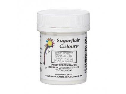 Gelová barva Sugarflair Extra White 50g