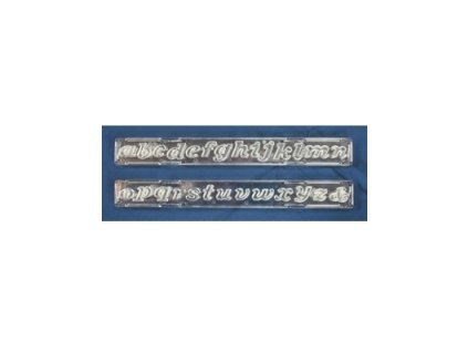 Vypichovač abeceda malá písmena kurzíva
