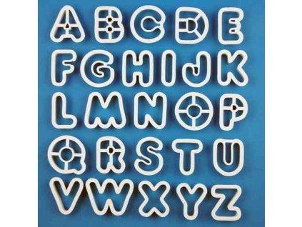 Vykrajovátka abeceda