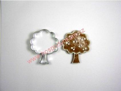 Nerezové vykrajovátko listnatý strom