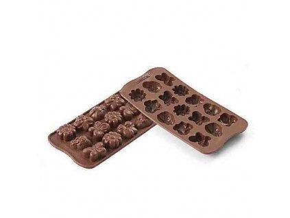 Silikonová forma na čokoládu Choco Spring-life