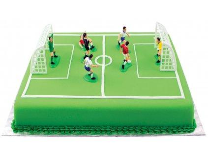Figurka na dort fotbal