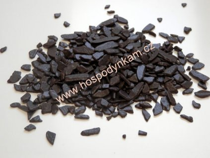 Cukrářské zdobení - šupiny tmavé 50g