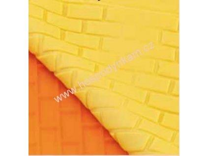 Otiskovací podložka cihlová zeď W132