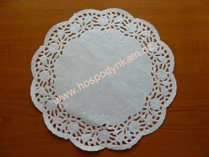 Balení Papírová krajka 14cm, 100ks