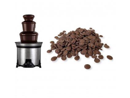 Čokoláda do fontány - mléčná 250g
