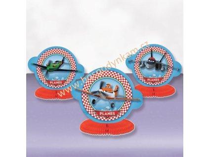 Papírová dekorace Disney Letadla