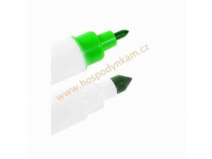 Jedlý fix Modecor, oboustranný zelený