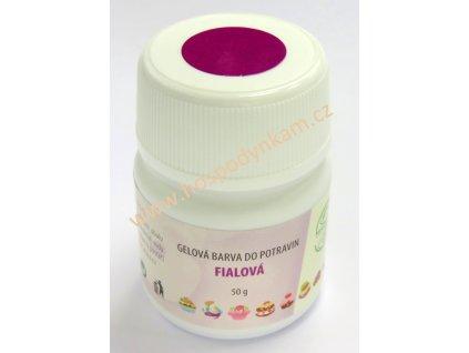 Gelová barva Aroco - fialová 50g