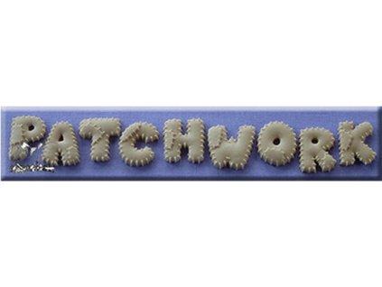 Silikonová forma na marcipán - patchworková abeceda