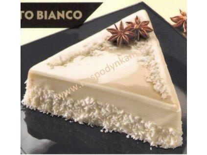Zrcadlová poleva bílá čokoláda 200g