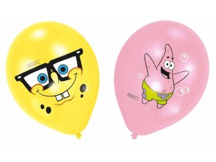 Balónky Spongebob