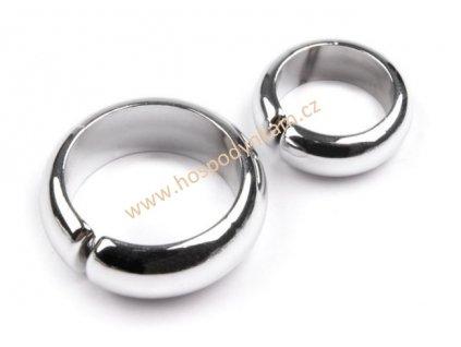 Snubní prstýnky stříbrné