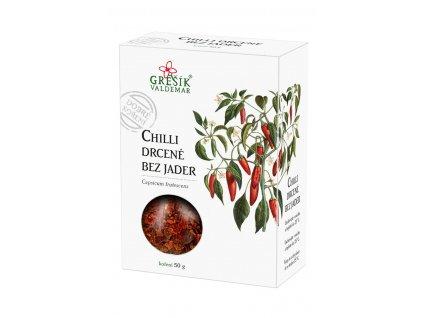 Koření Chilli drcené bez jader 20g