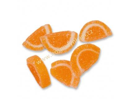Želé dekorace - pomeranče 50g