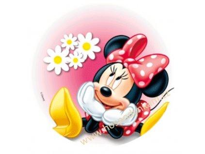 Jedlý papír Minnie zamilovaná