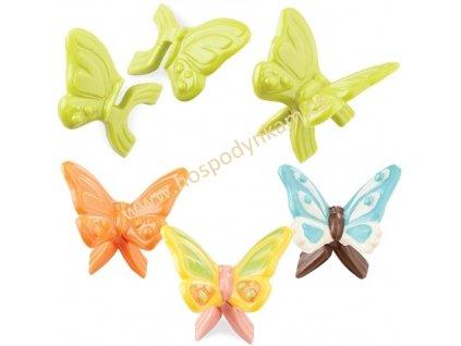Forma na čokoládu - 3D motýlci